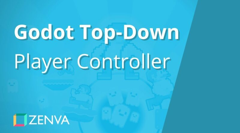 Godot Tutorial - Creating a 2D TOP-DOWN Player Controller