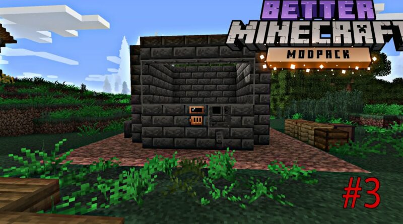 Minecraft But Better Let's Play Ep.3 - Tinker's Construct Smeltery