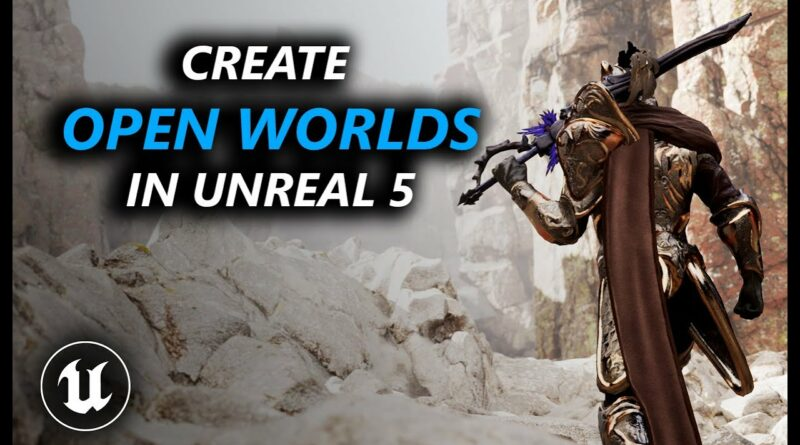 Create OPEN Worlds in Unreal Engine 5 in SECONDS! - Level Instance Blueprint in UE5
