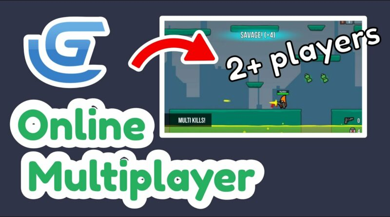 How to create an Online Multiplayer Game for 2 or more Players