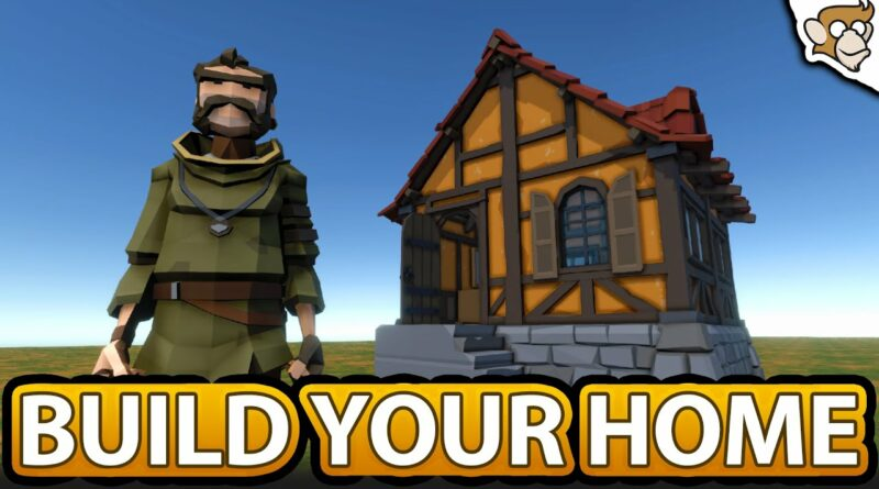 House Building System like Rust/Valheim! (First/Third Person | Unity Tutorial)