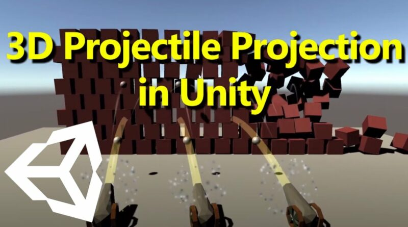3D Projectile Projection - Unity tutorial BEGINNER friendly