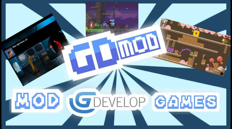 How to mod all GDevelop games with GDmod