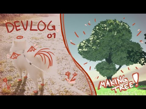 Devlog 01 - Making 3d styalized trees, and Hanging out in Fall weather