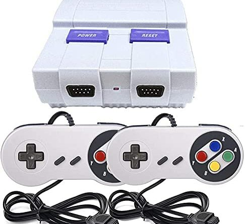 Classic Retro Mini Game Console,Built-in 400 Classic Games with 2 Controllers, Children Gift, Birthday Gift Happy Childhood Memories