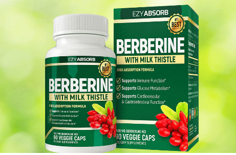 Ezyabsorb Berberine With Milk