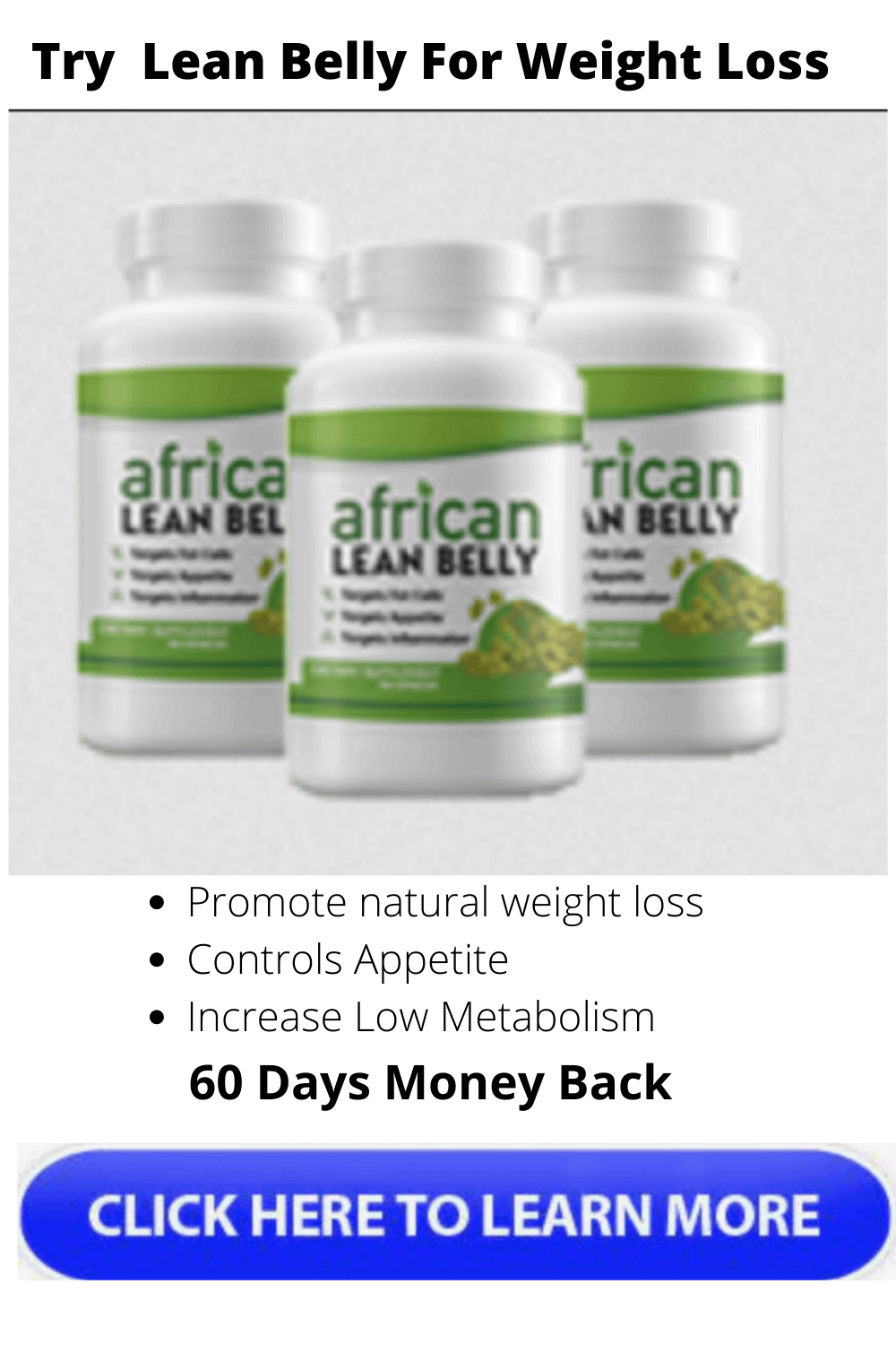 african lean belly supplement