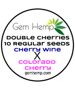 Double Cherries Industrial Hemp Seeds