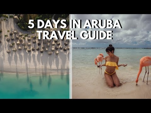 20 Things to Do in ARUBA  (COMPLETE TRAVEL GUIDE)