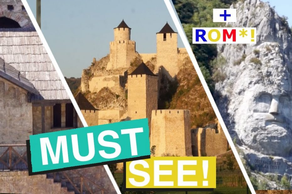 7 Places You MUST See in EASTERN SERBIA!  (Travel Guide to Golubac, Smederevo, Djerdap, Decebalus)