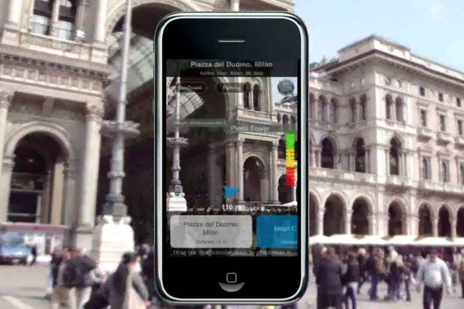 Augmented GeoTravel - Best Augmented Reality iPhone Travel Guide App