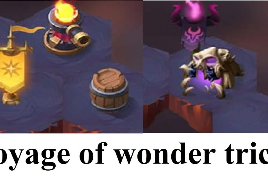 VOYAGE OF WONDERS  FULL TRICK WITH SOUND AFK ARENA VIDEO GUIDE