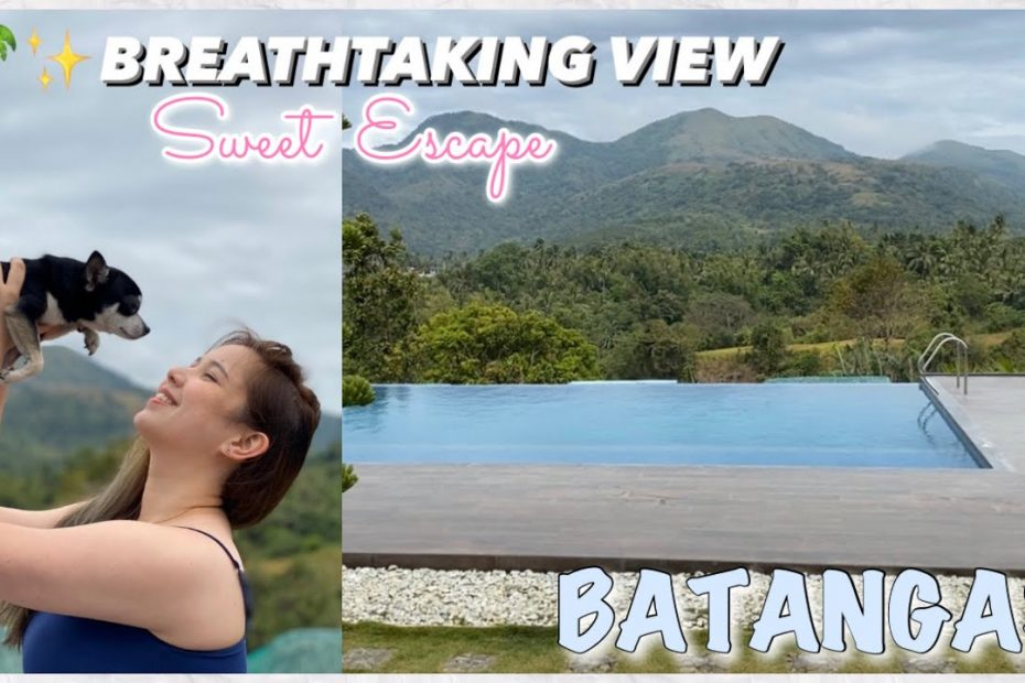 Best View in BATANGAS! (Travel Guide) | AngelaG Vlog #09