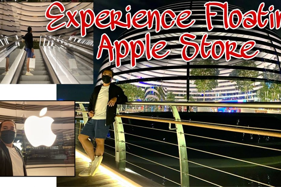 INSIDE THE FLOATING APPLE STORE | (Singapore Travel Guide EP12)