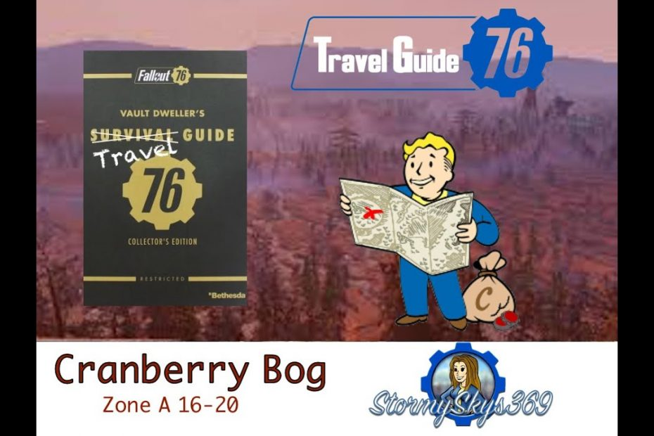 Fallout 76 Travel Guide: Cranberry Bog Zone A Locations 16 - 20