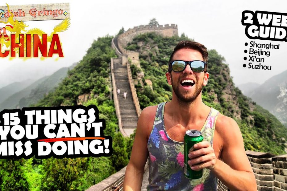 CHINA TRAVEL GUIDE – Things you must see and do in Beijing, Shanghai & Xi'an 🇨🇳 | 2 WEEKS
