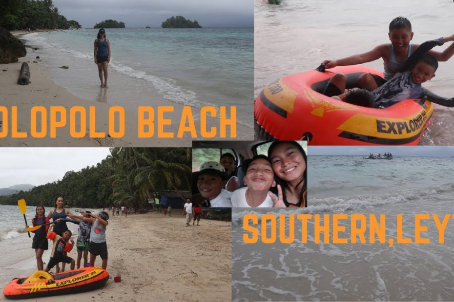[LEYTE TRAVEL GUIDE] Molopolo White Beach / Liloan Southern Leyte / A Brief Tour