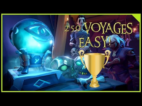 🎮 Sea of Thieves // Easy 250 Voyages/Quests per Company! // Achievement Guide