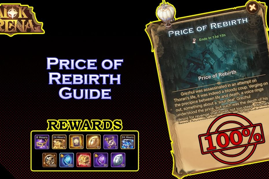 VOYAGE OF WONDERS: PRICE OF REBIRTH Quick Guide | AFK Arena Indonesia