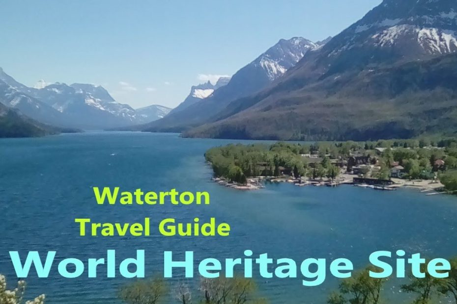Waterton Lakes (Can-US) Travel Guide & Info | Dark Sky Guide | Red Rock Canyon | Cameron Falls