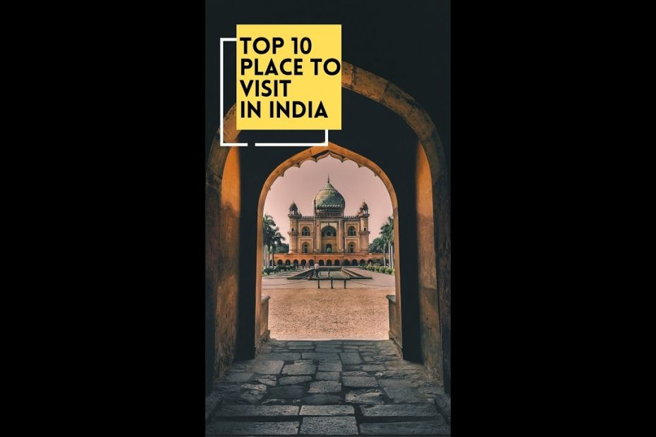 10 Best Places To Visit In India - Quick Travel Guide #shorts