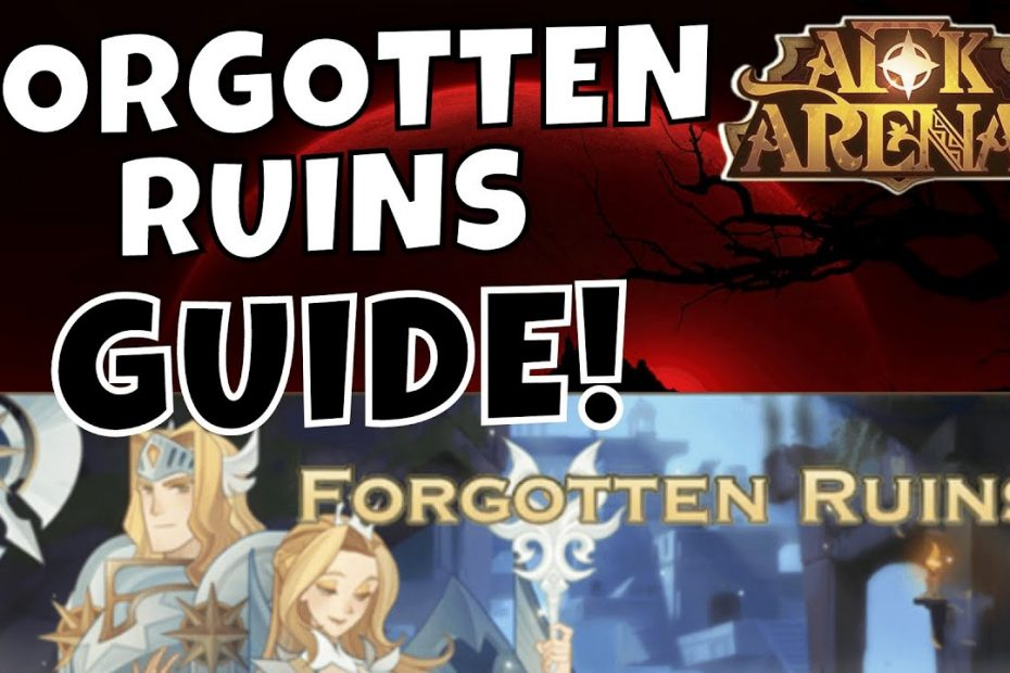 FORGOTTEN RUINS - VOYAGE OF WONDERS - FAST GUIDE! [AFK ARENA GUIDE]