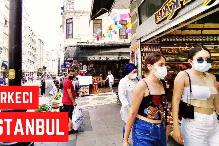 Istanbul City Walking Tour - Sirkeci Istanbul city 2021 - Turkey Istanbul travel guide