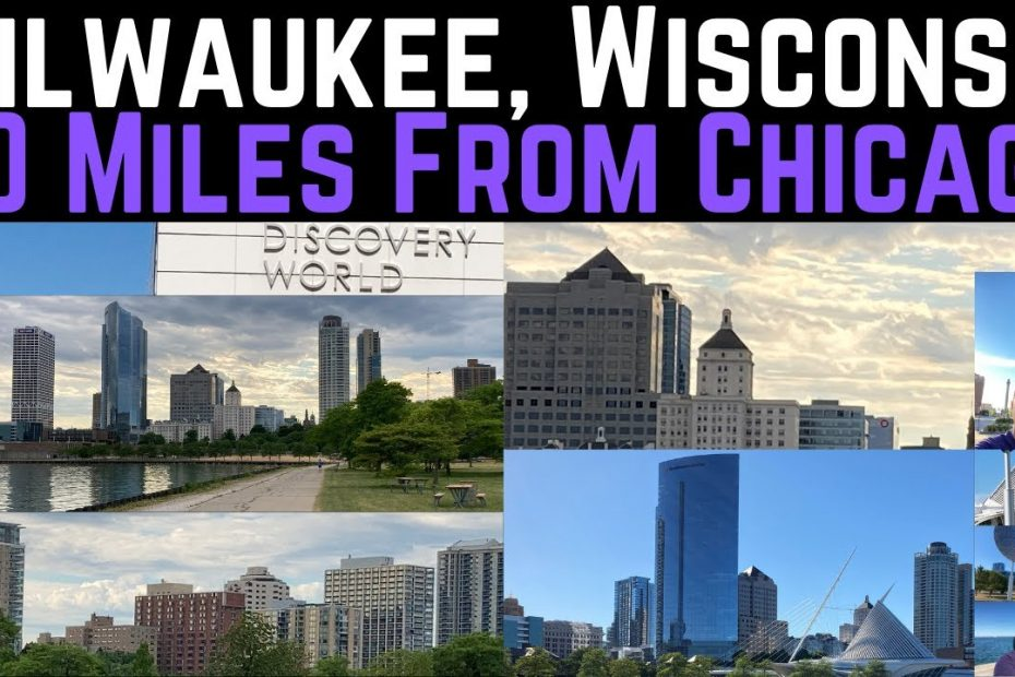Milwaukee Wisconsin Travel Guide | 80 Miles North of Chicago | Largest City of Wisconsin!!