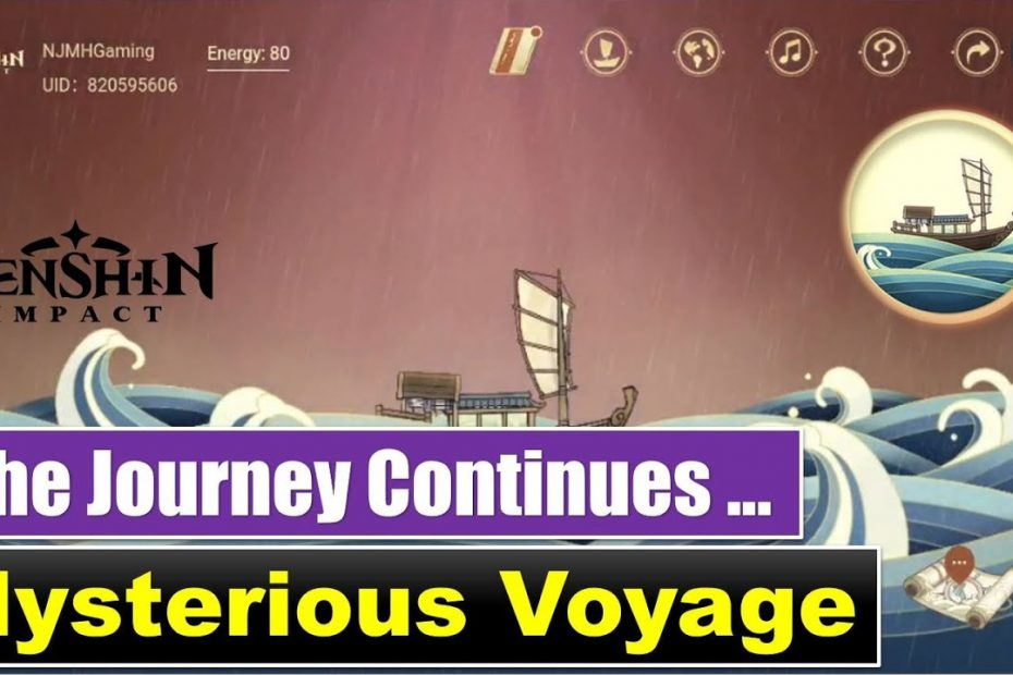 Mysterious Voyage Web Event [Voyage Continues] | Genshin Impact