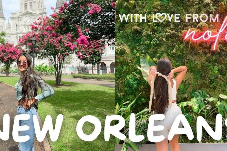 New Orleans Travel Vlog! // The Ultimate Travel Guide to NOLA!! // Shakira Curtis