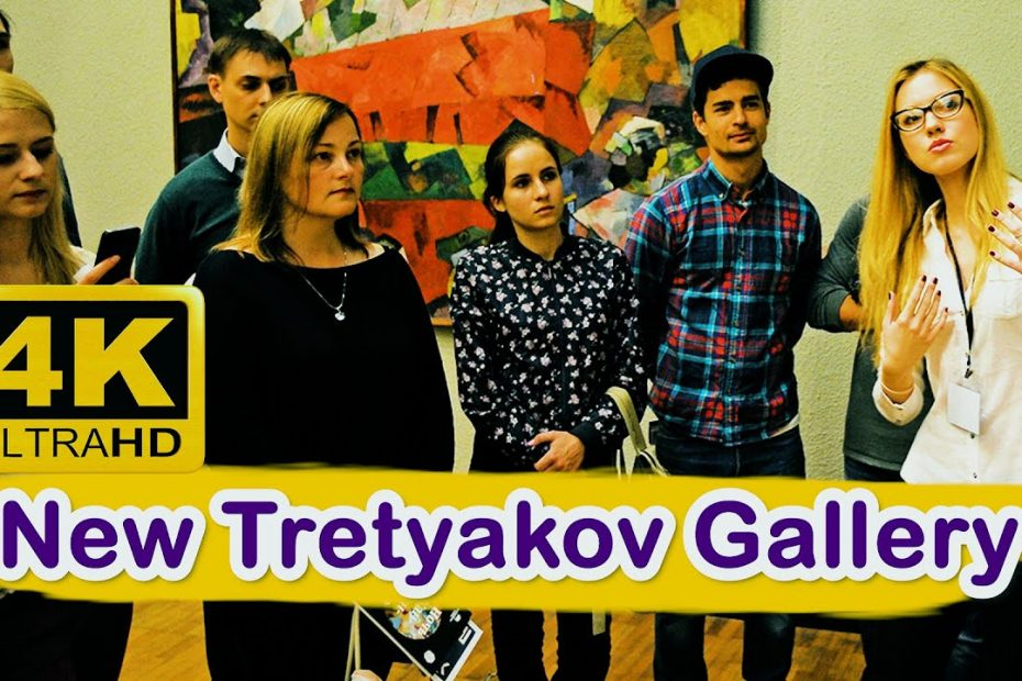 New Tretyakov Gallery, Moscow | Russia travel guide 4K