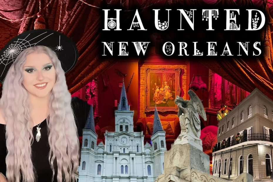 SPOOKY New Orleans TRAVEL GUIDE! Haunted Places, Vampires, and Spooky Things To Do!