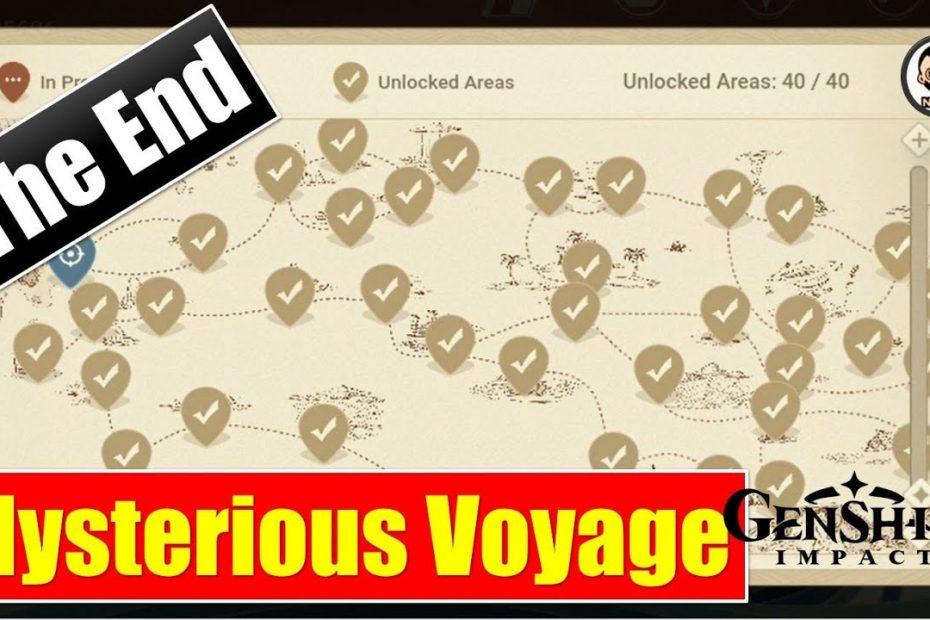 [The End] Mysterious Voyage | Solve Packet Puzzles and Get Amazing Rewards | Genshin Impact