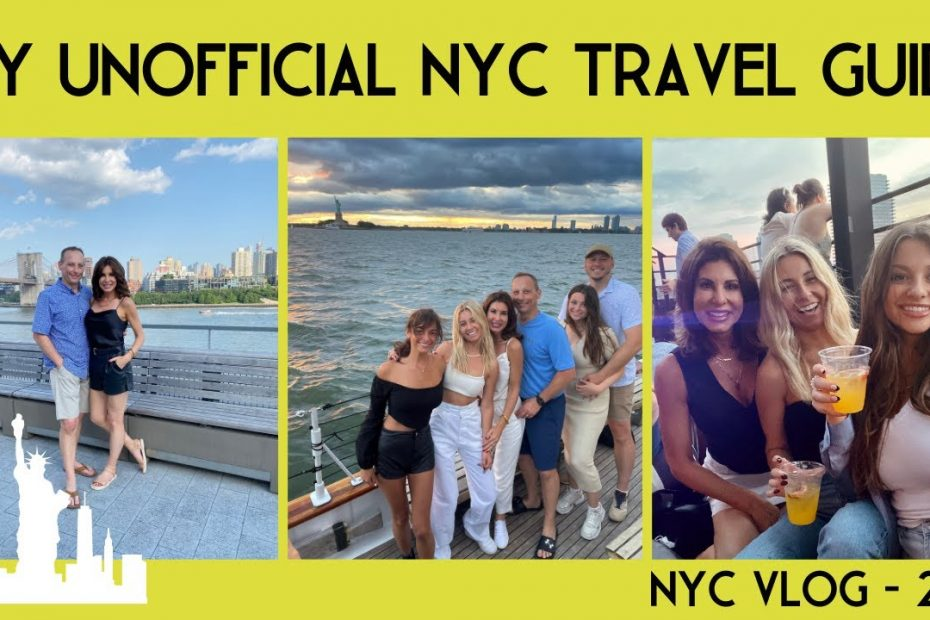 The Unofficial NEW YORK CITY Travel Guide    Jetski's, Sailboats and more  NYC VLOG 2021