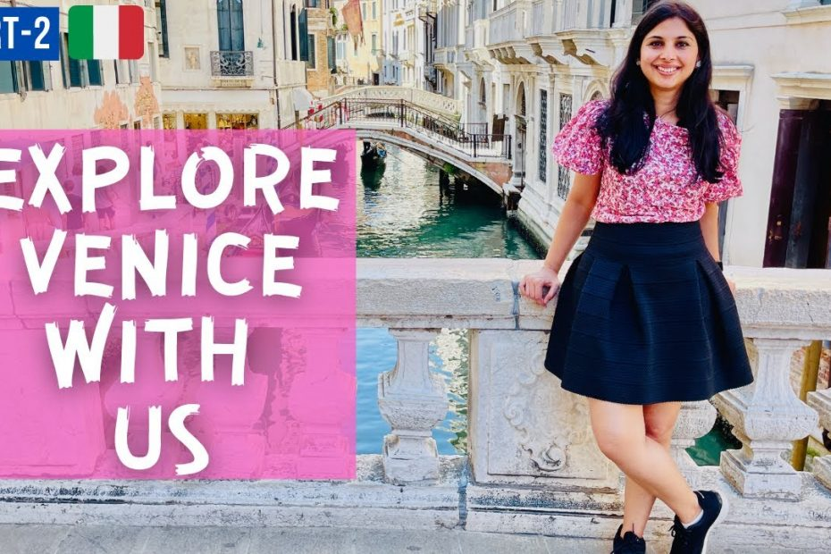 Venice City Tour | San Marco Square| Most Romantic City In World | Italy Travel Guide| Hindi Vlog