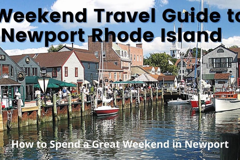Weekend Travel Guide to Newport Rhode Island - Drone Video, Mansions, Cliff Walk, 10 Mile Drive.