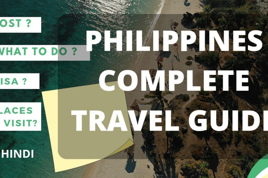 philippines Travel Guide  travel cost from india  in hindi  2021