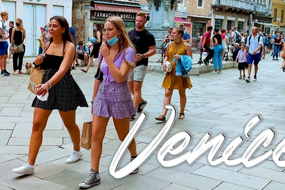 SUMMER VENICE. Italy - 4k Walking Tour around the City - Travel Guide. trends, moda #Italy