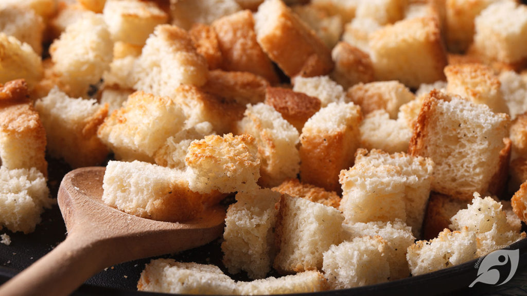 How to Make Gluten-Free Bread Cubes, Croutons & Breadcrumbs