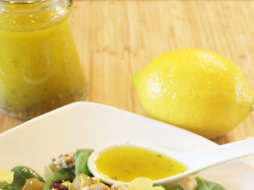 Lemon Poppyseed Dressing