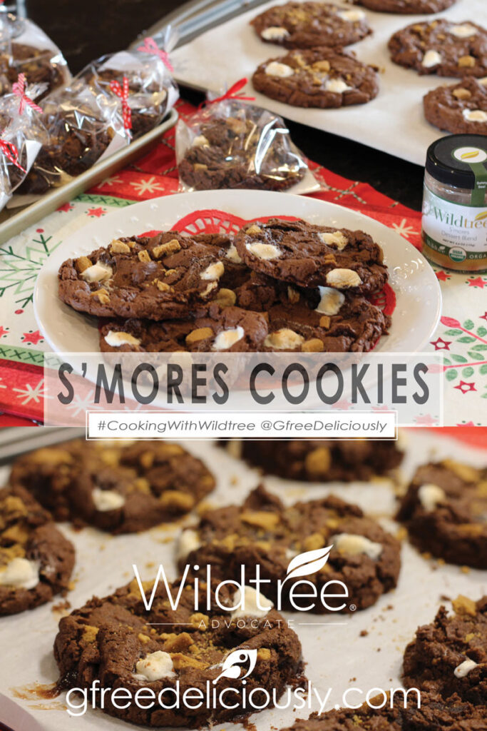 S'mores Cookies, Pinterest share image