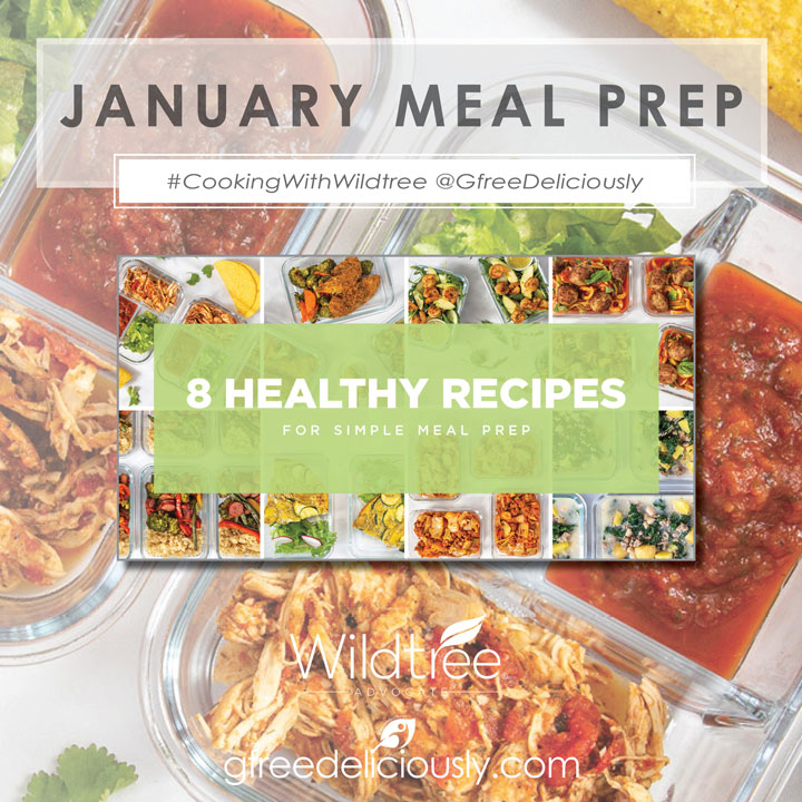 8 Healthy Recipes for Simple Meal Prep graphic