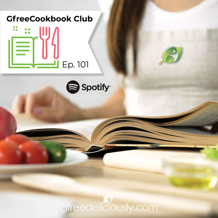 GfreeCookbook Club Episode 101 social share graphic 728x728px