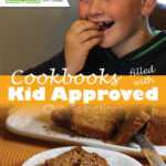 GfreeCookbook Club Cookbooks filled with Kid Approved Club Selections Pinterest Sharing graphic 800x1200px