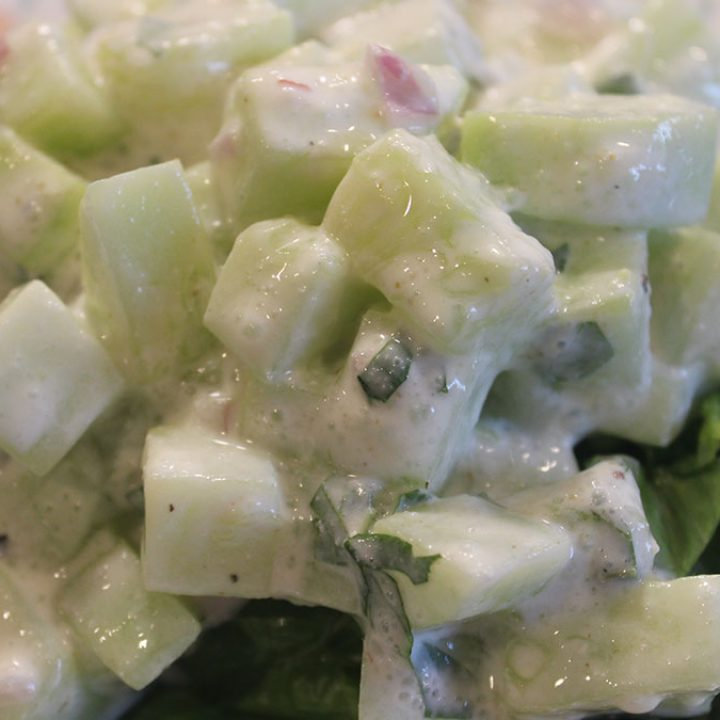 Cool Is Cucumber Mint Salad