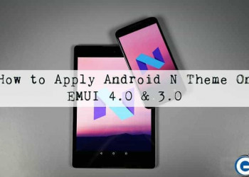 Download Android N Theme For EMUI