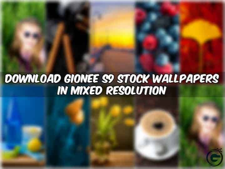 Gionee S9 Stock Wallpapers