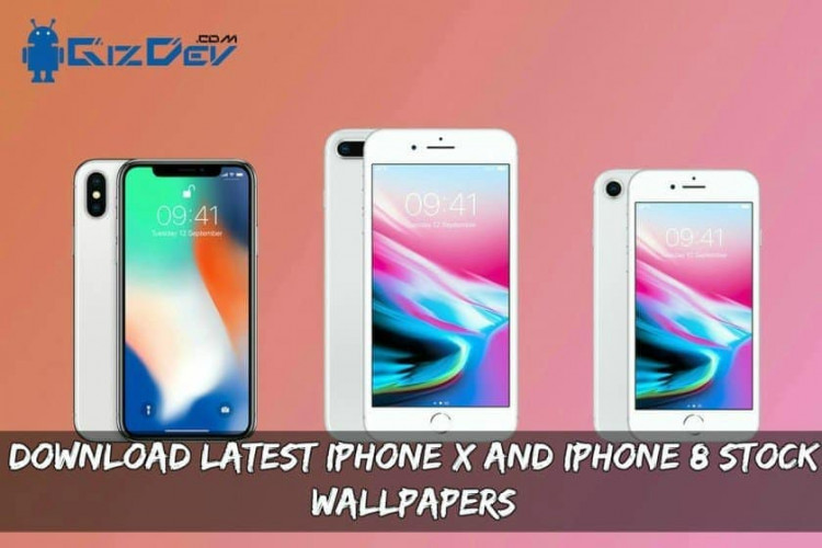 Download Latest iPhone X And iPhone 8 Stock Wallpapers