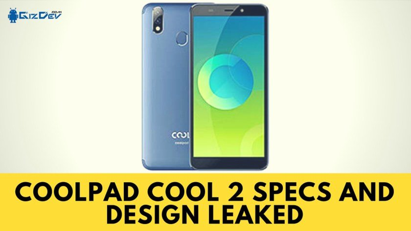 Coolpad Cool 2 Smartphone Specifications Leaked