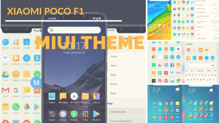 Download Xiaomi Poco F1 MIUI Theme For All Xiaomi Devices. Follow the post to get Pocophone F1 theme for Xiaomi Devices.